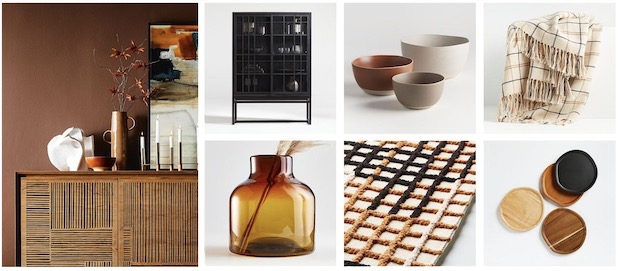 montage of Modern Prairie collection products