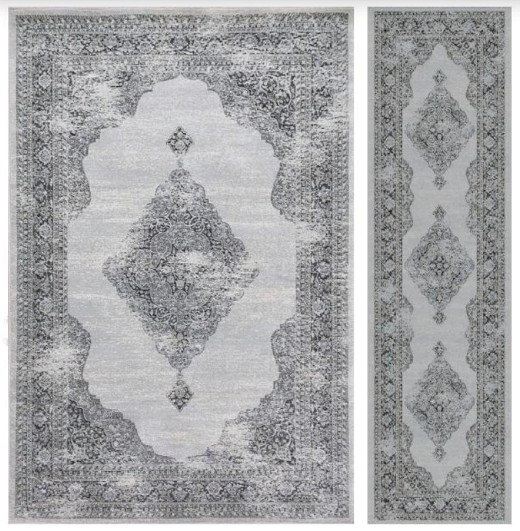 image of area rug and matching runner