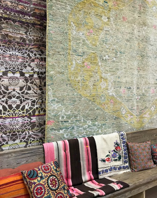 image of rug display