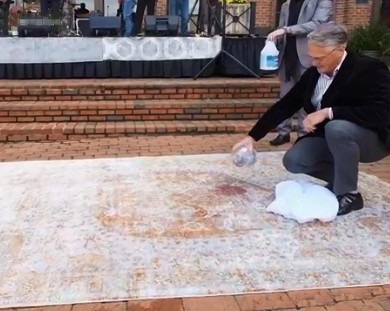 HRI Releases Video Detailing Sunbrella Performance Rugs