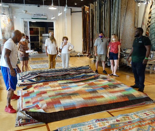 KCEC Hosts Afghan Artisan Rug Pop Up Shop in Charleston