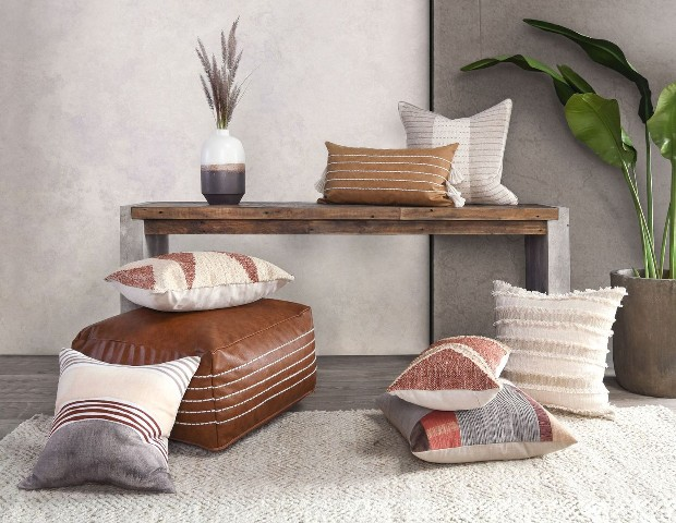 Classic Home Debuts Affinity Pillows and Natural Fiber Rugs at Summer Markets