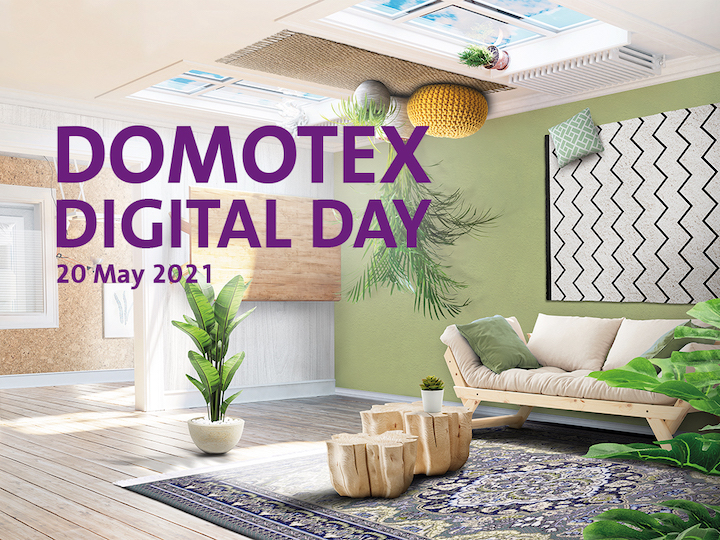 Graphic of Domotex Digital Day