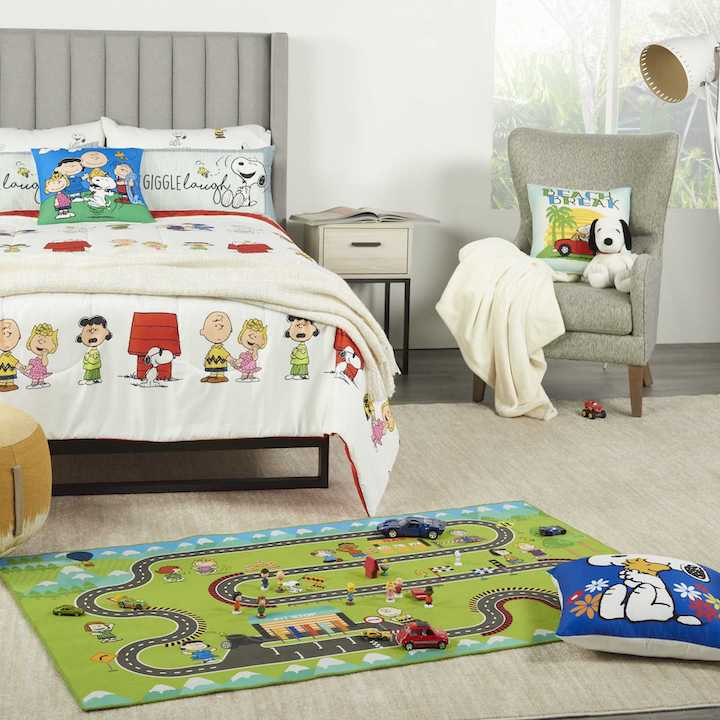 Nourison Introduces New Peanuts Racetrack Rug, Boho And Vintage Styles for NY Home Fashions Market