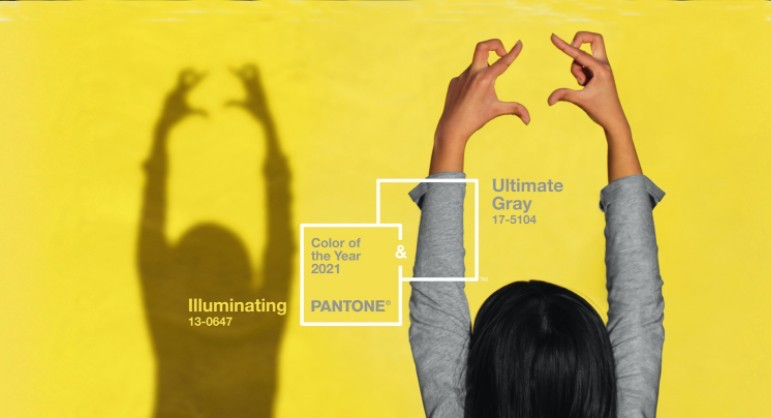 Pantone Reveals Color of the Year 2021: Pairing Ultimate Gray & Illuminating Yellow