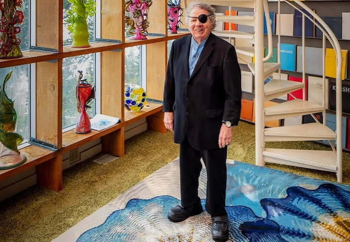 Artist Dale Chihuly Recasts His Iconic Glasswork Designs for the Floor