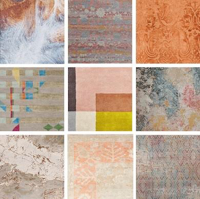 Collage of Rugs