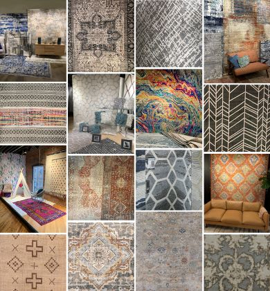Collage of Rugs & Vignettes