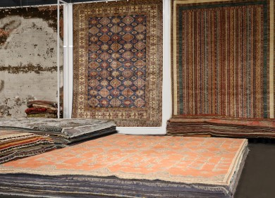 Momeni Showcases One of a Kind Rugs in Atlanta, Opens Temporary OAK Space for Vegas Market