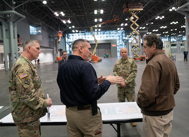 NYC's Javits Center Gets Retooled as Covid-19 Field Hospital