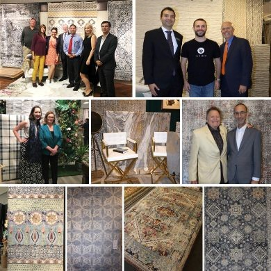 Collage of People and Rugs