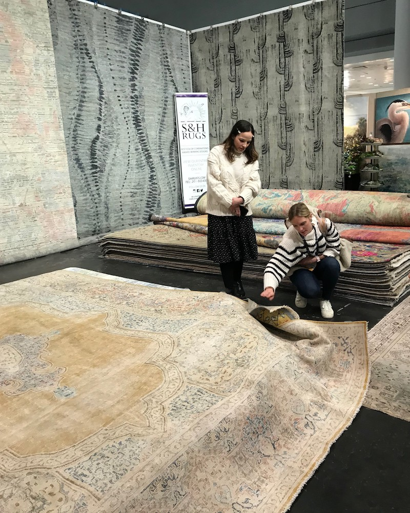 NY Now Rug Exhibitors Showcase Top Area Rug Trends